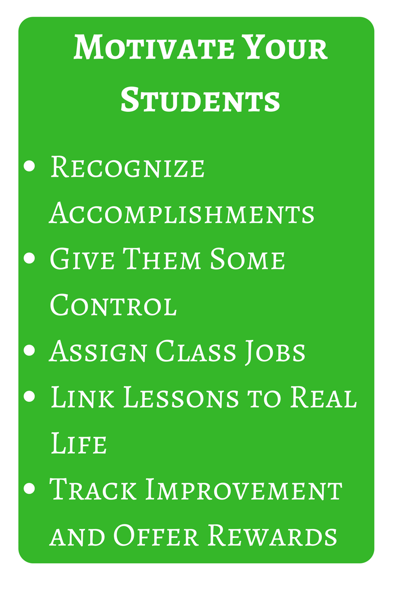 ways to motivate students