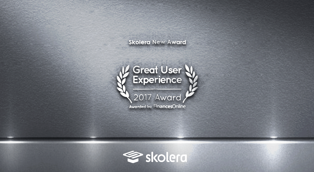 skolera great user experience award