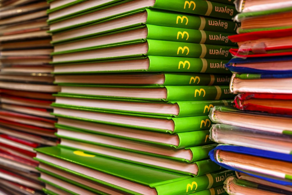 first day of school for teachers textbooks