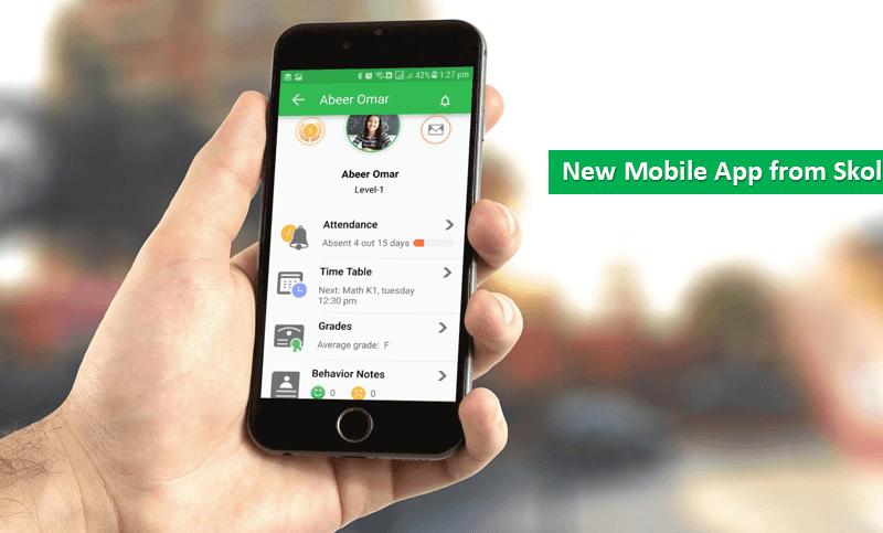 Skolera lms mobile app of parents