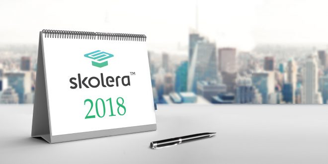 Skolera in 2018: What did we do?