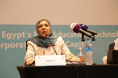 Dalia Ibrahim and education in Egypt