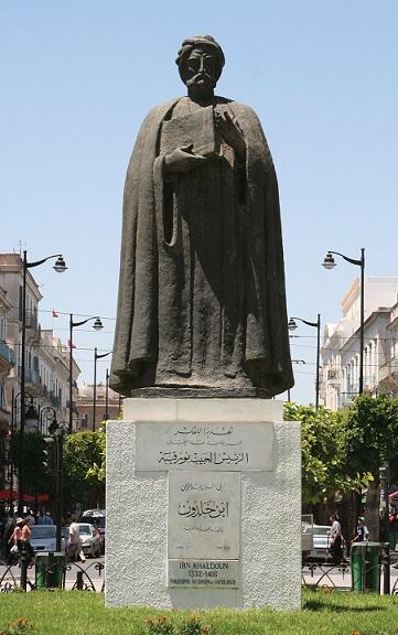 Ibn-Khaldun-statue - Tunis-Tun