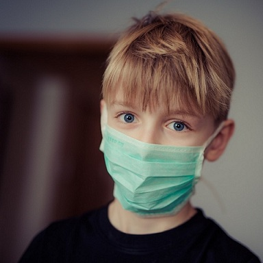 boy with mask - coronavirus