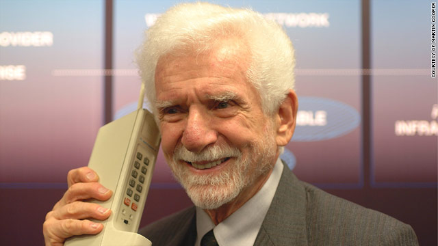 martin cooper - father of cell phone and mobiles