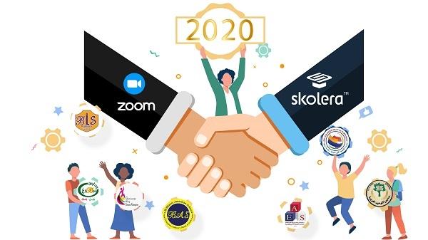 zoom - schools with skolera lms - 2020 recap